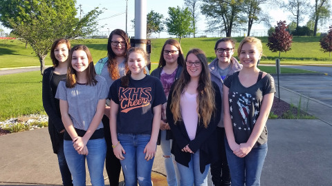 Third time was a charm for three time entrants and #WYS2016 winners, Kiski Area Intermediate School's Yearbook Staff. (Photo: Business Wire)