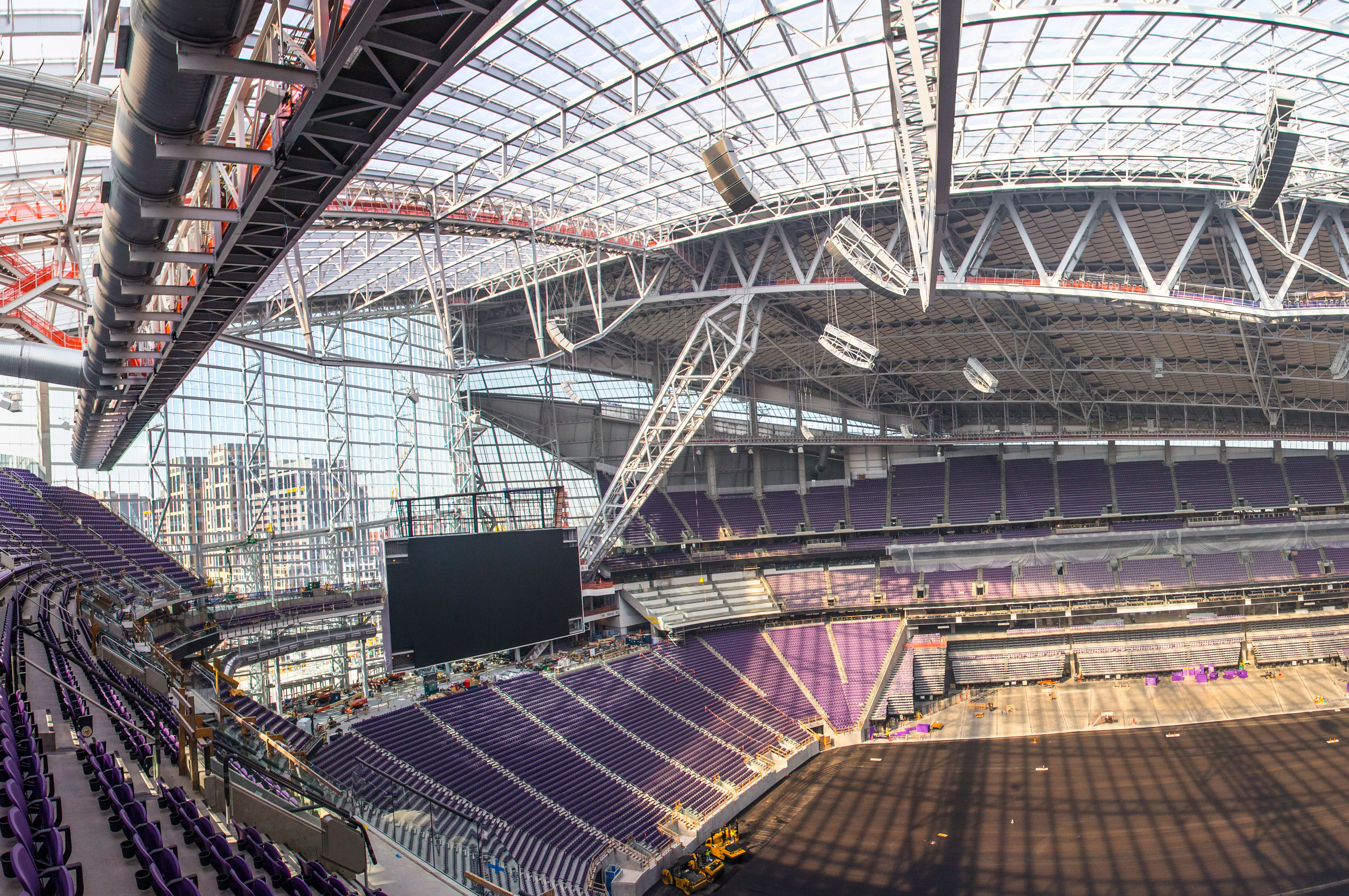 New Vikings Football Stadium First In The U.S. To Use Lightweight ETFE Film  Roof | Business Wire