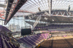 3M Science helps to create an enjoyable environment year round for Minnesota Viking fans by permitting outdoor atmosphere without frigid temperatures (Photo: Business Wire)