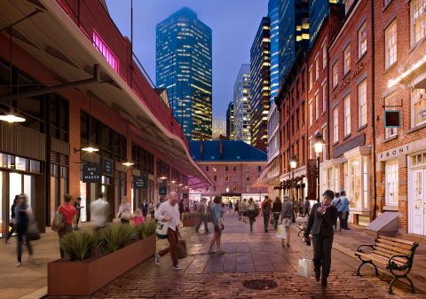 Seaport District Historic Streets (Photo: Business Wire)