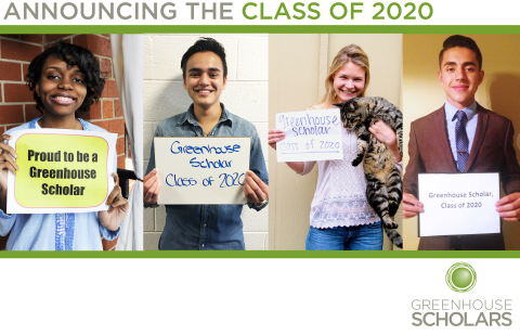 Greenhouse Scholars, an education based non-profit, announces its Class of 2020. (Photo: Business Wire)