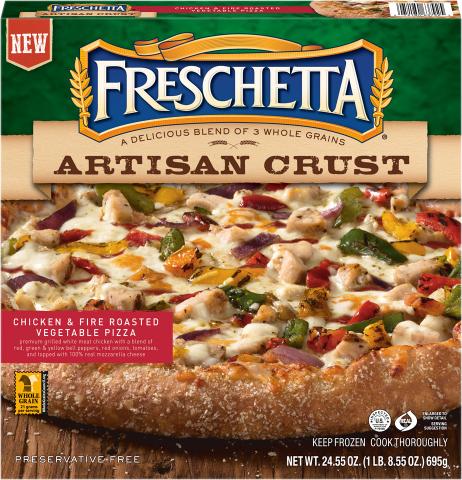 Freschetta Artisan Crust Chicken & Fire Roasted Vegetable. (Photo: Schwan's Consumer Brands, Inc.)