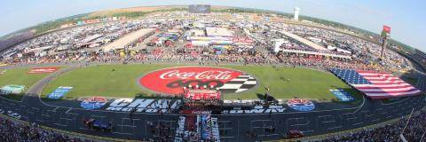 To purchase tickets, camping and race-day upgrades, call the speedway ticket office at 1-800-455-FANS (3267) or shop online at www.charlottemotorspeedway.com. (Photo: Business Wire)