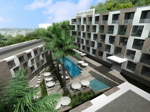 Hyatt Place Phuket, Patong is located in the heart of Phuket overlooking the stunning white sand and sapphire blue sea of Patong Beach. (Photo: Business Wire)