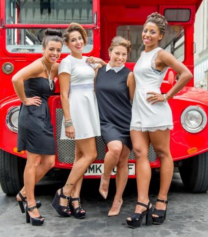Gillette Venus présente Roseline Filion, Jennifer Abel, Meaghan Benfeito et Pamela Ware, membres du FAB IV et nouvelles ambassadrices de la marque. Crédit photo: Vincent Graton