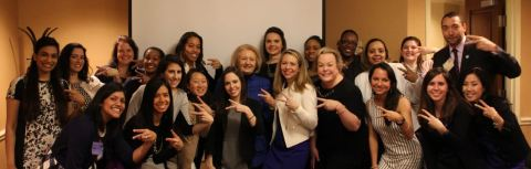 Accenture's Washington D.C. Metro Women's Employee Resource Group at the company's 2016 International Women's Day Celebration
