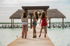 """Angelique Boyer plays Ana Laura, Ana Lucia and Ana Leticia in Univision Network's """"Tres Veces Ana"""". (Photo: Univision)"""