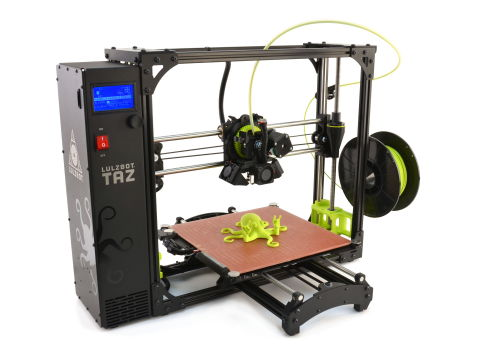 LulzBot TAZ 6 Desktop 3D Printer (Photo: Business Wire)