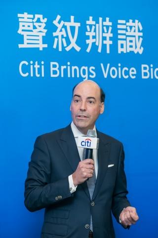 Citi Asia Pacific CEO Francisco Aristeguieta announces that Citi has launched Voice Biometric Authentication for clients.