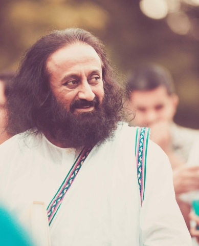 Art of Living Founder and Guru of Joy, Sri Sri Ravi Shankar (Photo: Business Wire)