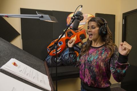 Race car driver Danica Patrick voices Rally in Nickelodeon's Blaze and the Monster Machines.