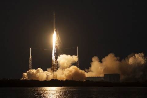 SES and Telkom Form Strategic Partnership to Supply Satellite Capacity for Indonesia Through SES-9 (Credit: SpaceX)