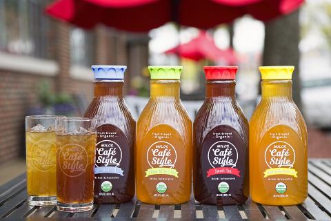 Milo's Tea has introduced four new USDA certified Café Style Organic Teas (Photo: Business Wire)