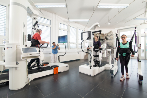 Hocoma Robotic Devices (Photo: Business Wire)