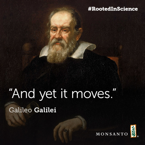 "Galileo Galilei: ""And yet it moves."" (Foto: Business Wire)"