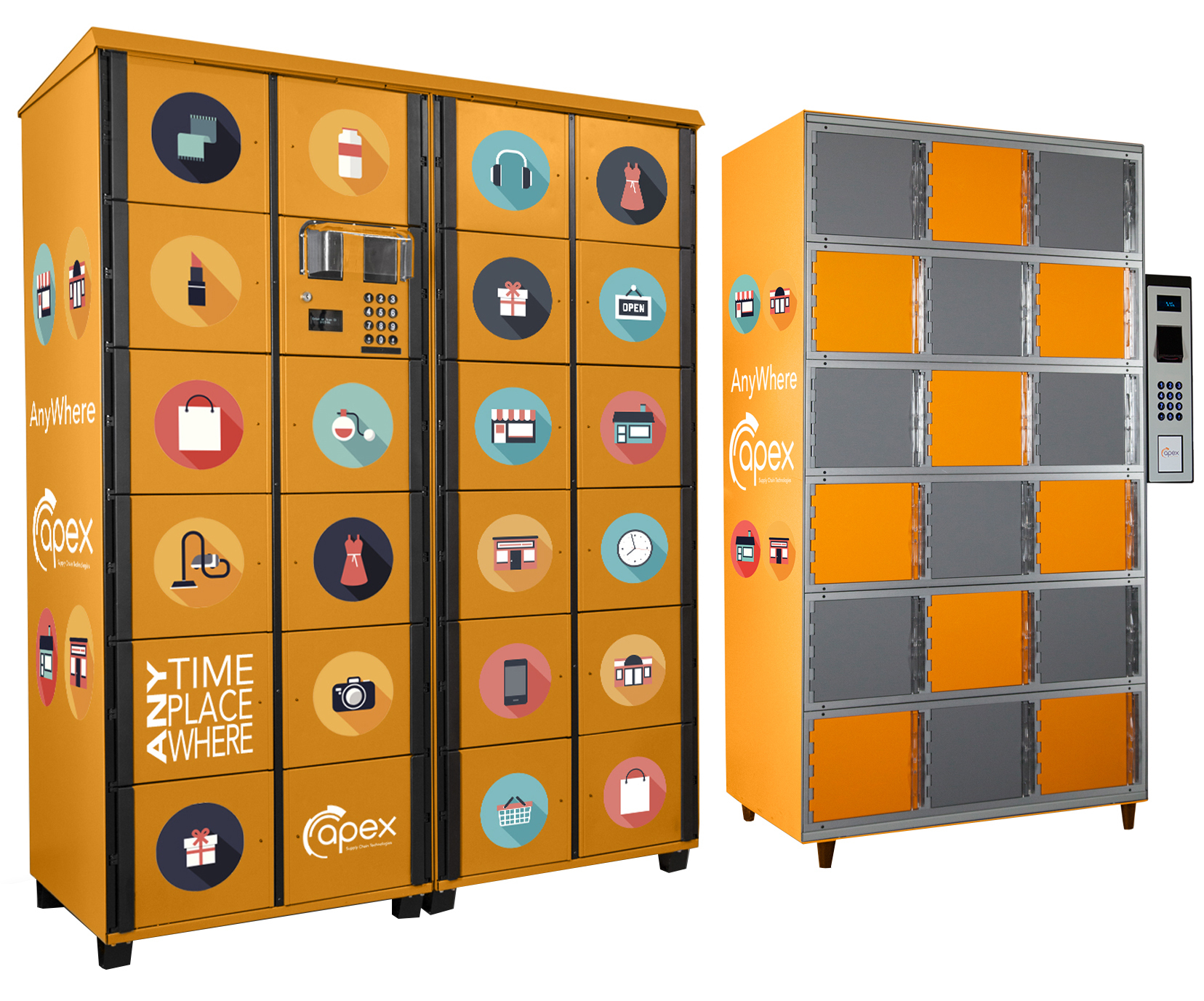 Apex Introduces New Self Serve Locker Applications For