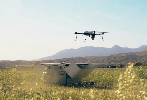 AeroVironment's Tether Eye unmanned aircraft system is designed to provide continuous, 24-hours-a-da ...