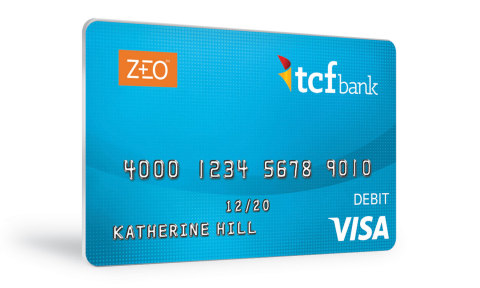 ZEO products and services include a prepaid debit card (pictured here), check cashing, a savings acc ...