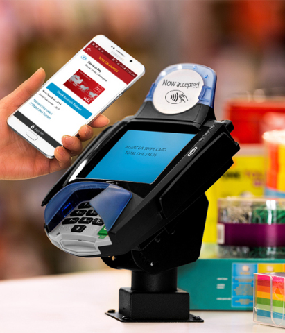 Wells Fargo Wallet for Android users gives customers the unique ability to make secure NFC payments directly from the Wells Fargo mobile app.