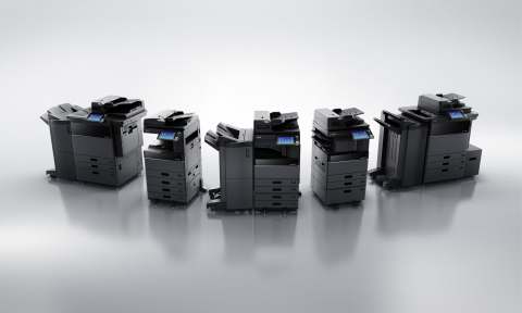 Toshiba's new MFP series (Photo: Business Wire)