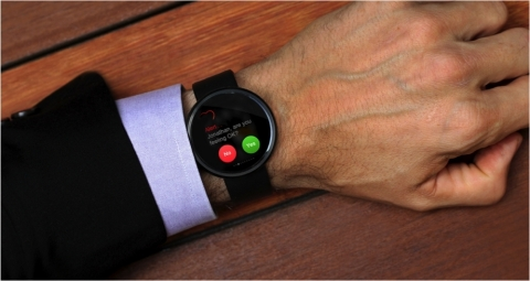 iBeat – The smart watch that can save your life. (Photo: Business Wire)