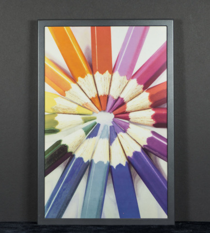 E Ink's Advanced Color ePaper (ACeP), a high quality, full color reflective display. (Photo: Business Wire)