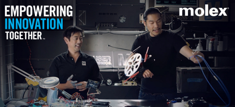 Grant Imahara and Allen Pan show off their Super Hero creations as part of Mouser and Marvel's Empow ...