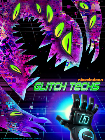 """Nick Picks Up New Gaming-Themed Animated Series, """"Glitch Techs"""" (Photo: Nickelodeon)"""
