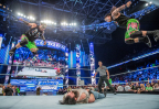 WWE Superstars The Usos at SMACKDOWN (Photo: Business Wire)