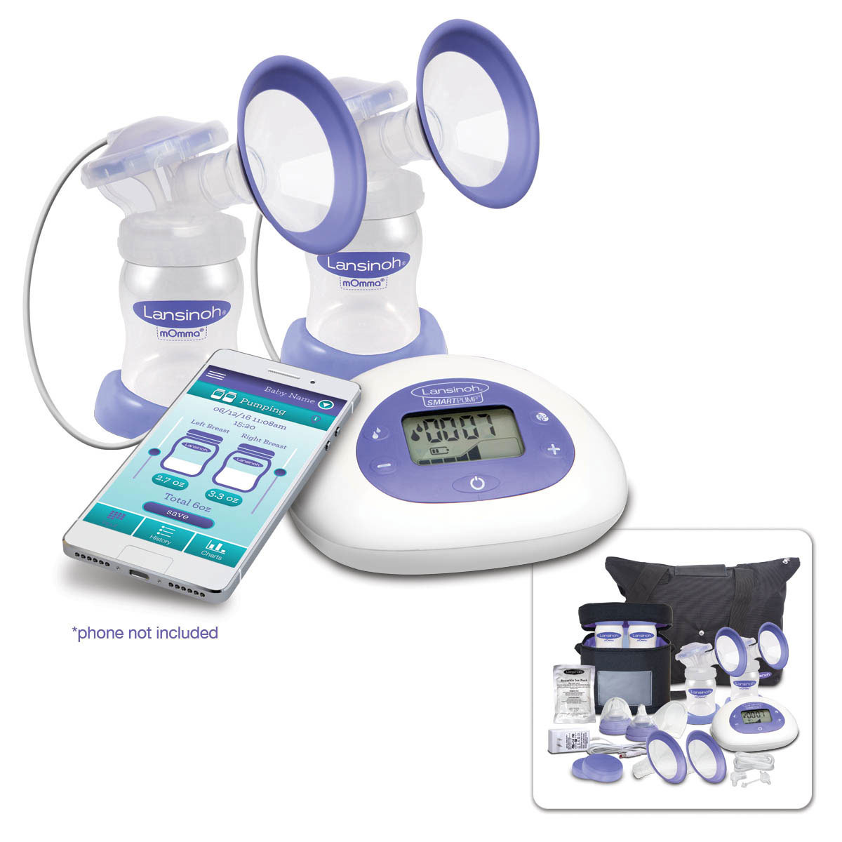 Lansinoh Launches The First Bluetooth Enabled Breast Pump