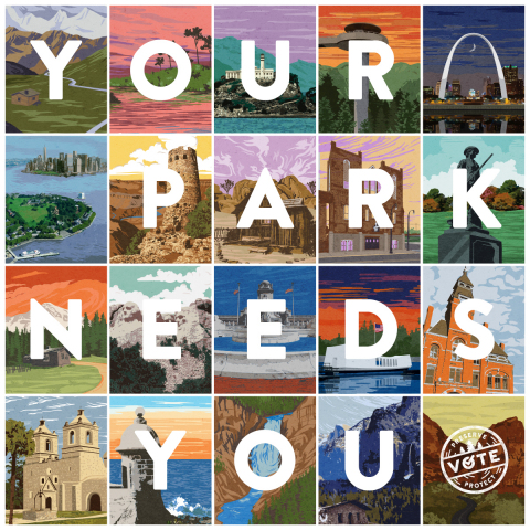 #VOTEYOURPARK: 20 Historic Sites in National Parks vie for $2 million in grants by public vote during the 2016 Partners in Preservation: National Parks campaign. The public can get involved by visiting savingplaces.org/partners-in-preservation for more information and voting daily through July 5 at VoteYourPark.org. (Photo: Business Wire)