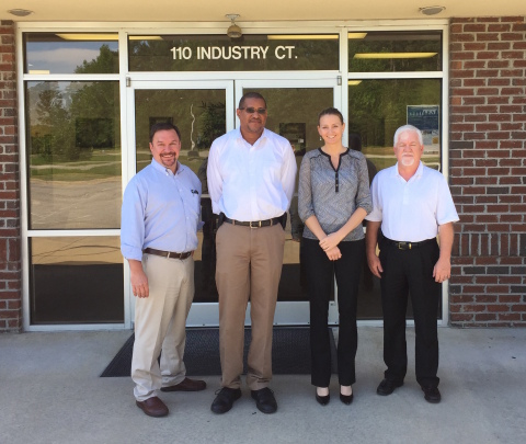 From left to right: Steve Morris, Michael Duggan, Tara Rhein, and Mitchell Faircloth (Photo: Business Wire)