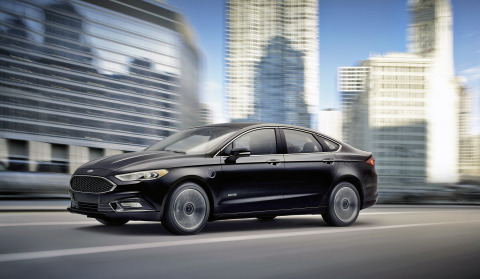 Ford, America's best-selling plug-in hybrid brand, now offers a plug-in hybrid that can go further than any other. The new 2017 Fusion Energi can travel 610 miles on a full tank of gas and battery charge – according to EPA estimates posted to fueleconomy.gov – the highest combined range of any plug-in hybrid sold in America. (Photo: Business Wire)