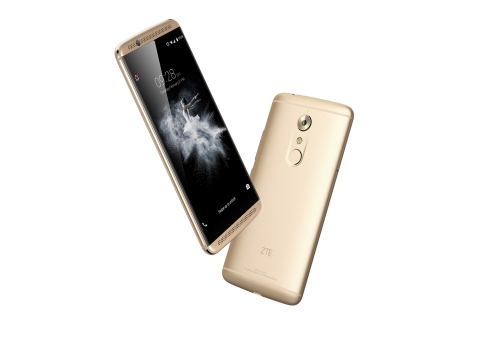 The AXON 7 flagship follows ZTE's highly successful first-generation AXON smartphone (Photo: Busines ...