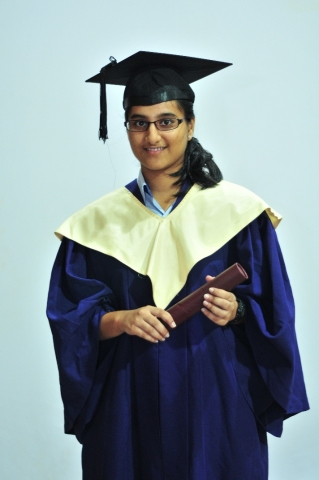 NRI Anushka Gaikwad from Global Indian International School (GIIS), Queenstown Campus in Singapore topped the ASEAN region in the 2016 CBSE Class 12 exams (Photo: Business Wire)