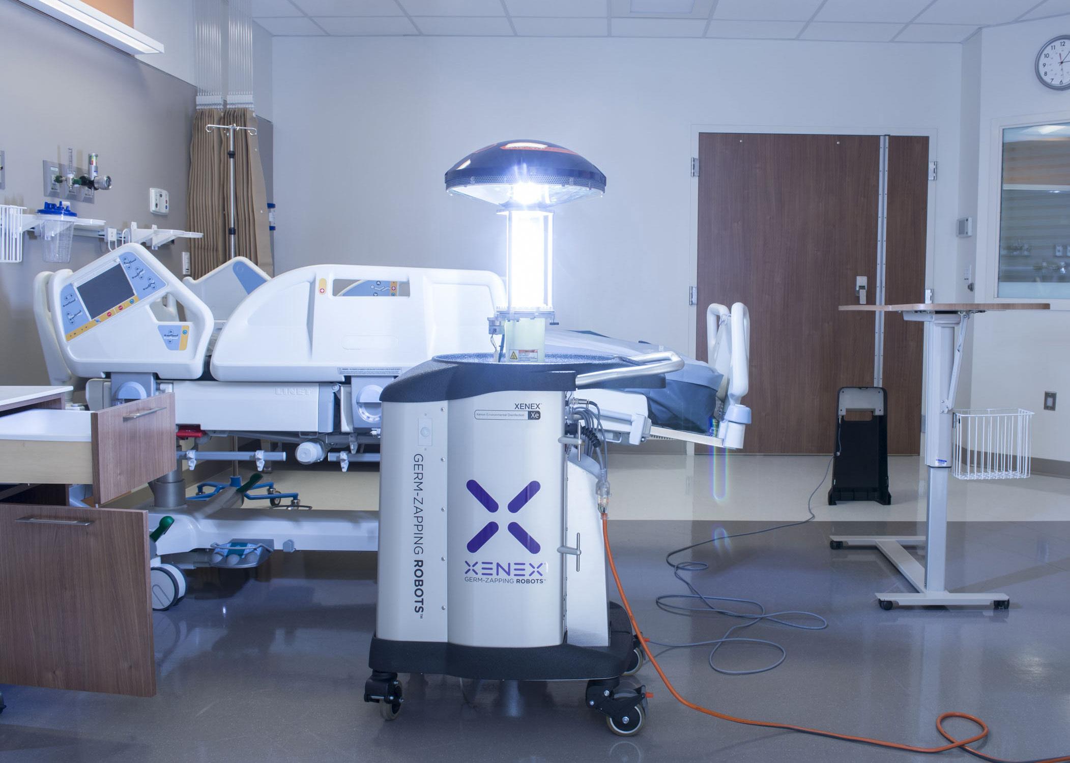 Xenex Germ-Zapping Robot Kills CRE; Robot Destroys Nightmare ...