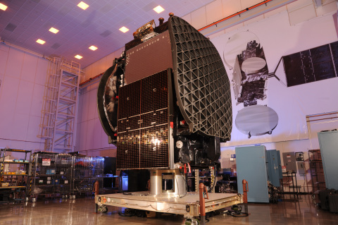 The THAICOM 8 commercial satellite was built at Orbital ATK's state-of-the-art manufacturing facility in Dulles, Virginia. (Photo: Business Wire)