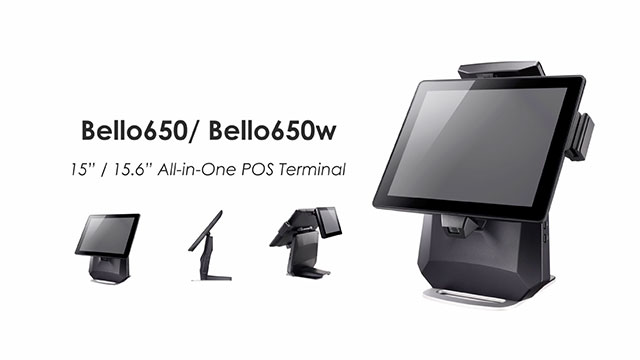 Clientron introduced its touch POS terminal Bello650 for retail and hospitality solution