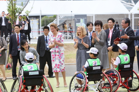 Paralympic Sports Event (Photo: Business Wire)