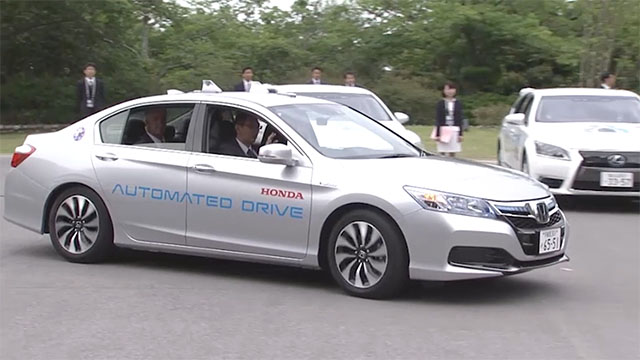 Automated-Driving and Fuel Cell Vehicle Presentation