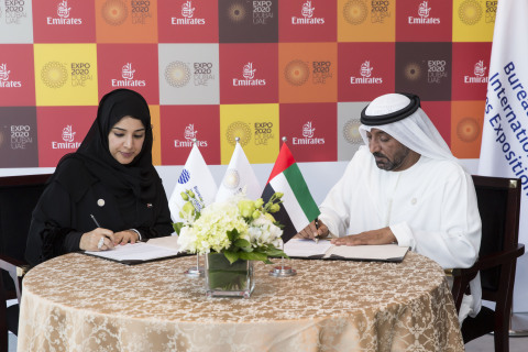 Expo 2020 Dubai's first partner – Emirates Airline – is uniquely placed to help welcome 25 million visitors to what will be one of the world's largest events.(Photo: ME NewsWire)