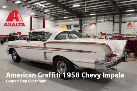 Ray Evernham has partnered with Axalta Coating Systems to bring this piece of movie history and Americana back to life. The car will be unveiled in Axalta's booth #22391 at the 2016 Specialty Equipment Market Association (SEMA) Show in Las Vegas on November 1-4. (Photo: Axalta)