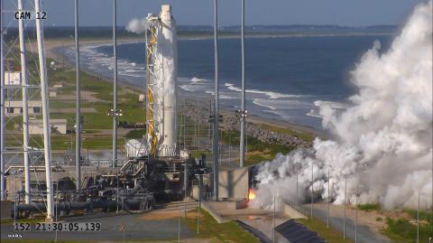 Orbital ATK conducted a full-power