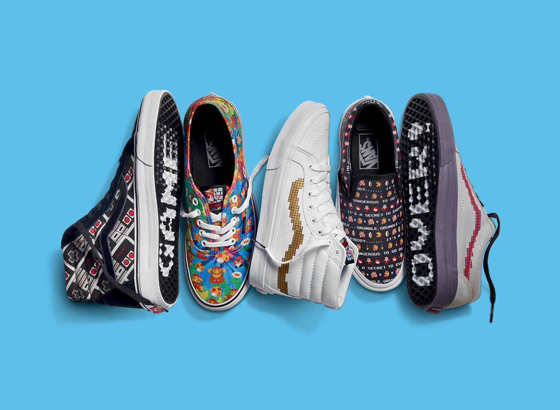 1a2f635205 Vans Powers Up with a New Nintendo Collection!