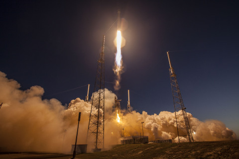 SES-9 lift-off from Cape Canaveral on 4 March 2016 (Credit: SpaceX)