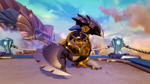 Meet King Pen - King Pen is a new Skylander Sensei making his debut in Skylanders Imaginators. As on ...