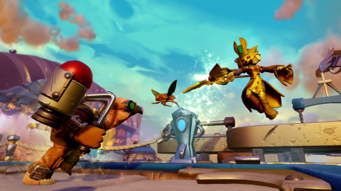 Golden Queen - Skylanders Imaginators introduces a new lineup of Skylanders known as Senseis.  Amongst these powerful heroes are several fan-favorite villains, including Golden Queen, who return as fully playable characters that are now reformed and fight for good alongside the Skylanders. (Graphic: Business Wire)