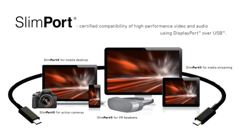 Analogix's market proven DisplayPort over USB-C solutions under the SlimPort brand are mobile industry's top choice. (Photo: Business Wire)