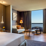 Hyatt Centric Montevideo River View Guestroom (Photo: Business Wire)