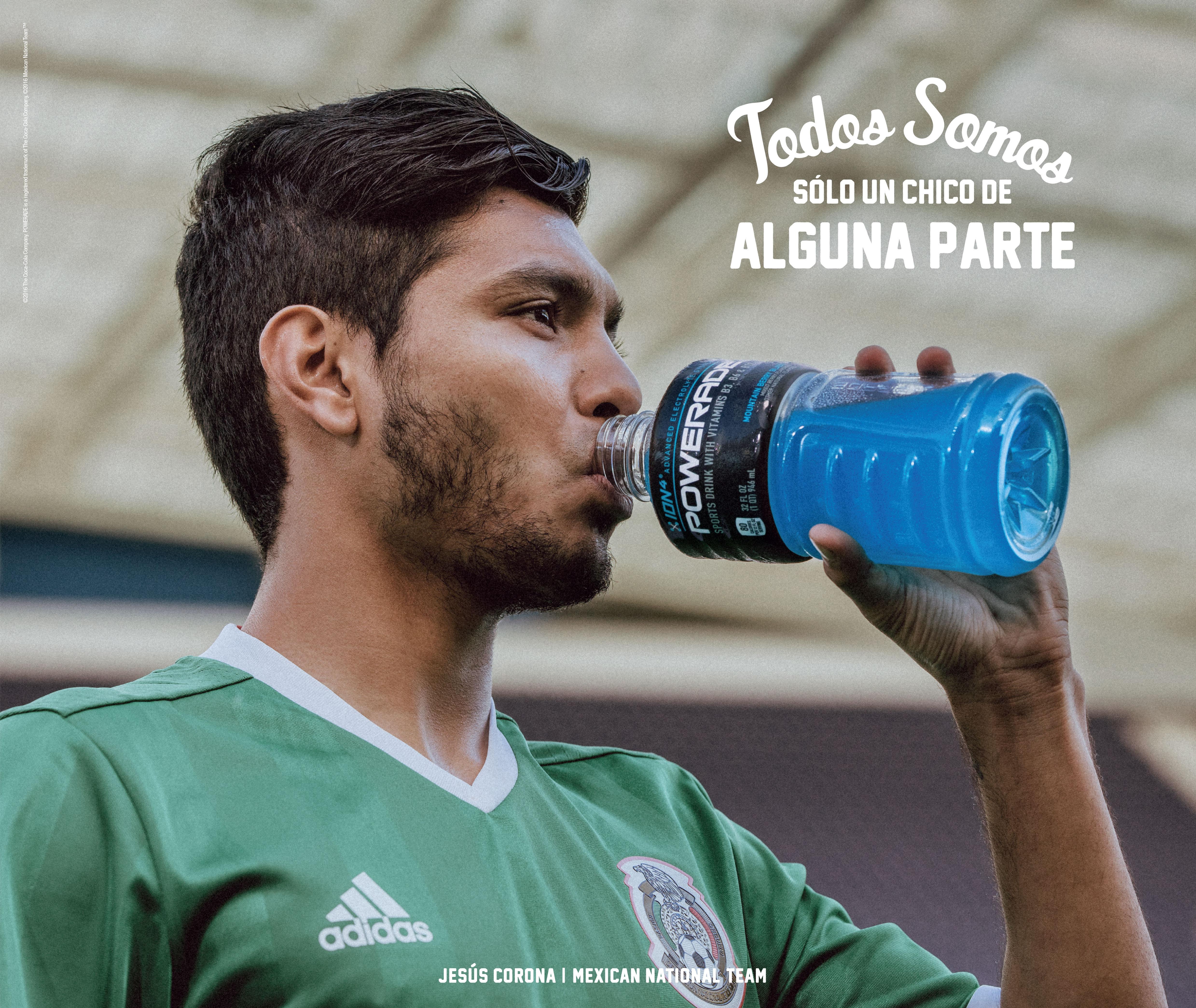 "Jesus ""Tecatito"" Corona stars in new POWERADE ""Just a Kid"" campaign (Photo: Business Wire)"